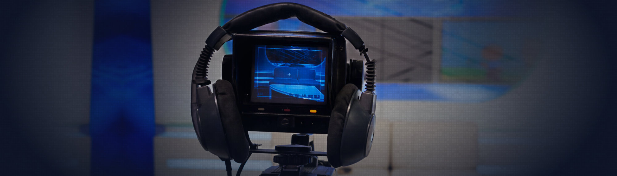 video camera and headset