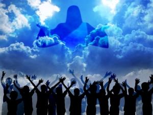 people praising jesus christ